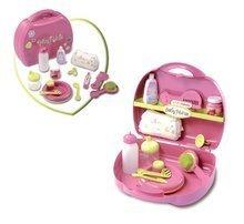 Doplňky pro panenky - Přebalovací set pro panenku Baby Nurse Smoby v kufříku růžový_1