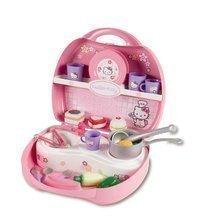SMOBY 24472 Hello Kitty mini kuchynka v kufríku 25,5*22,5*10 cm