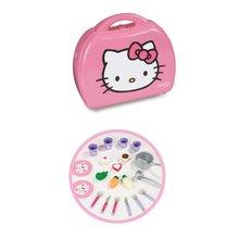 Egyszerű játékkonyhák - Játékkonyha Hello Kitty Mini Cuisine Smoby kofferban 20 kiegészítővel világos rózsaszín_0