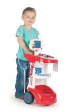 Lekárske vozíky sety - Set lekársky vozík Smoby zvukový s tlakomerom a elektronická kuchynka Cook'Tronic Tefal so zvukmi a svetlom_1