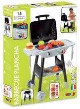 Detská dielňa sety - Set pracovná dielňa Black+Decker Smoby s vŕtačkou a kuchynka Barbecue Grill na kolieskach_18