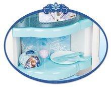 Kuchynky pre deti sety - Set kuchynka Frozen Smoby s trblietkami a čajová súprava Frozen na tácke_2