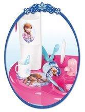 Kuchynky pre deti sety - Set kuchynka Frozen Smoby s trblietkami a čajová súprava Frozen na tácke_4