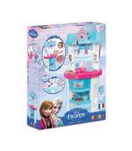 Kuchynky pre deti sety - Set kuchynka Frozen Smoby s trblietkami a čajová súprava Frozen na tácke_10