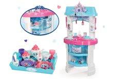 Kuchynky pre deti sety - Set kuchynka Frozen Smoby s trblietkami a čajová súprava Frozen na tácke_17