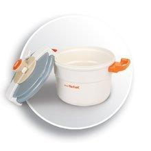Spotrebiče do kuchynky - Tlakový hrniec Mini Tefal Smoby s mechanickým zvukom bielo-oranžový_1