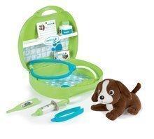Cărucioare medicale pentru copii - Trusă medicală cu animal Smoby din pluş şi 8 accesorii_0