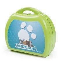 Cărucioare medicale pentru copii - Trusă medicală cu animal Smoby din pluş şi 8 accesorii_3