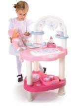 Domčeky pre bábiky sety - Prebaľovací stôl pre bábiku Baby Nurse Srdiečko Smoby s 10 doplnkami_0