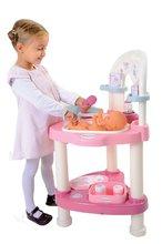 Domčeky pre bábiky sety - Prebaľovací stôl pre bábiku Baby Nurse Srdiečko Smoby s 10 doplnkami_4