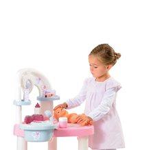 Domčeky pre bábiky sety - Prebaľovací stôl pre bábiku Baby Nurse Srdiečko Smoby s 10 doplnkami_6