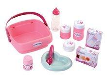 Domčeky pre bábiky sety - Prebaľovací stôl pre bábiku Baby Nurse Srdiečko Smoby s 10 doplnkami_7