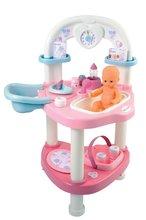 Domčeky pre bábiky sety - Prebaľovací stôl pre bábiku Baby Nurse Srdiečko Smoby s 10 doplnkami_8