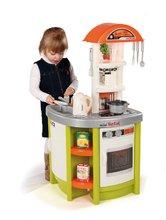 Bucătării electronice de jucărie - Bucătărie de jucărie Tefal Studio Smoby cu fierbător de apă electronic și 19 accesorii verde_0