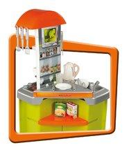 Bucătării electronice de jucărie - Bucătărie de jucărie Tefal Studio Smoby cu fierbător de apă electronic și 19 accesorii verde_1