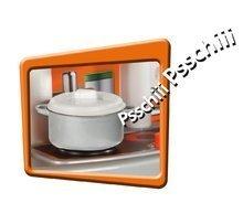 Bucătării electronice de jucărie - Bucătărie de jucărie Tefal Studio Smoby cu fierbător de apă electronic și 19 accesorii verde_2