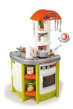 Bucătării electronice de jucărie - Bucătărie de jucărie Tefal Studio Smoby cu fierbător de apă electronic și 19 accesorii verde_4