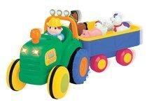 Hračky zvukové - 024752 b kiddieland traktor
