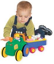 Hračky zvukové - 024752 d kiddieland traktor