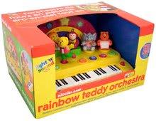 Hračky zvukové - Piano Activity Kiddieland so zvieratkami, zvukom a svetlami dúhové od 12 mes_0