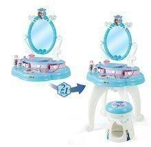 Kozmetický stolík pre deti - Kozmetický stolík Frozen 2v1 Smoby so stoličkou a 10 doplnkami_0