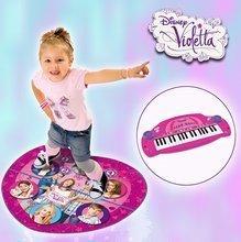 Detské hudobné nástroje - Piano Violetta Smoby elektronické ružové_0