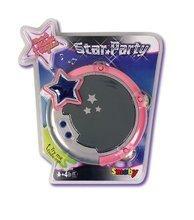 SMOBY 27434 Star Párty elektrická tamburína s 4 melódiami a 8 rytmami, 17*4,5 cm