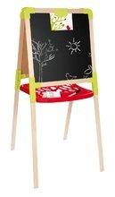 Hry na domácnosť - Set upratovací vozík s elektronickým vysávačom Clean Smoby a školská tabuľa obojstranná magnetická_7