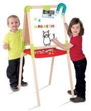 Hry na domácnosť - Set upratovací vozík s elektronickým vysávačom Clean Smoby a školská tabuľa obojstranná magnetická_5