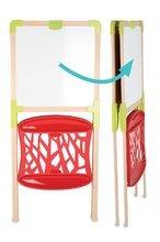 Hry na domácnosť - Set upratovací vozík s elektronickým vysávačom Clean Smoby a školská tabuľa obojstranná magnetická_19