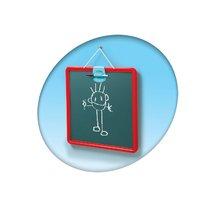 Školské tabule - Školská tabuľa na hranie Smoby magnetická, obojstranná na zavesenie s fixkou červená_0