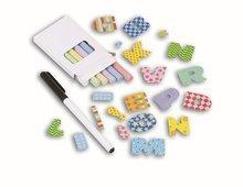 Školské tabule - Školská tabuľa na hranie Smoby magnetická, obojstranná s poličkou, kovovou konštrukciou a 60 doplnkami ružová_1