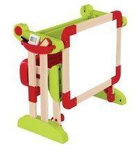 Školní lavice - Dřevěná školní lavice Activity 2v1 Smoby skládací s oboustrannou tabulí a 61 doplňky_3