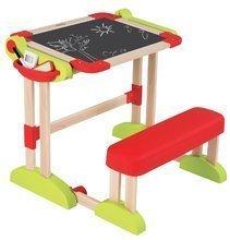 Školské lavice - Drevená školská lavica Modulo Space Smoby obojstranná skladacia s 80 doplnkami_10