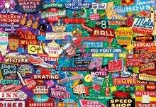 Puzzle 1000 dielne - Puzzle Genuine Retro neon dream Educa 1000 dielov od 12 rokov_0