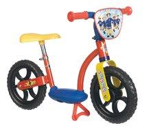 SMOBY 770108 balancne odrážadlo Learning Bike Fireman Sam s kovovou konštrukciou a nastaviteľným sedadlom 77*40*48 cm od 2 rokov