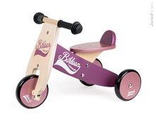 Drevené odrážadlo Little Bikloon Janod Pink&Purple od 12-36 mesiacov