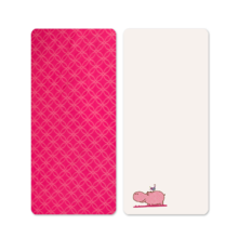 Napínacie prestieradlo do postieľky Joy toTs-smarTrike hroch 2 kusy 100% bavlnený satén ružové