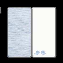 Napínacie prestieradlo do postieľky Classic toTs-smarTrike vtáčiky 2 kusy 100% jersey bavlna modré