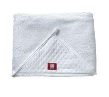 Prosop de baie pentru sugari Red Castle - Fleur de coton ® mare și moale alb