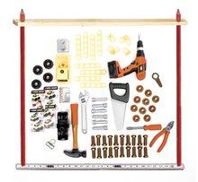 Staré položky - Pracovný stôl Black&Decker Smoby s elektronickou vŕtačkou so zvukom a skladacím autíčkom_1