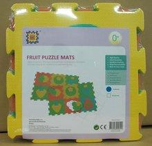 Podlahové puzzle pro miminka - Pěnové puzzle ovoce Lee Chyun podložka pro nejmenší 6 dílů_1