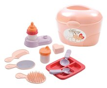 Kufrík s doplnkami pre bábiku Nursery Écoiffier od 18 mesiacov s11 doplnkami