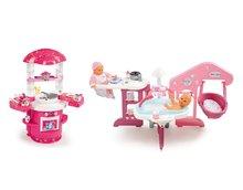 Domčeky pre bábiky sety - Set opatrovateľské centrum pre bábiku Baby Nurse Smoby a kuchynka Princezné Ma Premier od 3 rokov_18