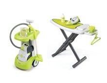 Hry na domácnost - Set úklidový vozík Rowenta Smoby s elektronickým vysavačem, žehlicí prkno, elektronická žehlička Clean_13