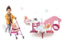 Domčeky pre bábiky sety - Set opatrovateľské centrum pre bábiku Baby Nurse Smoby a skladací kočík Baby Nurse Zlatá edícia (47,5 cm rúčka)_12