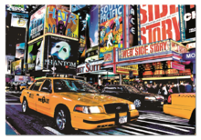 Puzzle 1500 dílků - Puzzle Taxi na Times Square Educa 1 500 dílů_0
