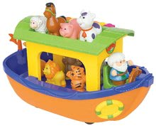 Arca lui Noe cu animale Activity Kiddieland cu efecte sonore de la 12 luni