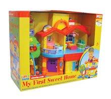 Hračky zvukové - Hrací dům Activity Sweet home Kiddieland s hlasy a melodiemi od 12 měsíců_1