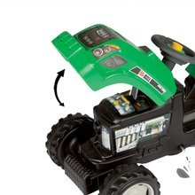 Dětská šlapací vozidla - Traktor na šlapání RX Bull Smoby s přívěsem zelený_1